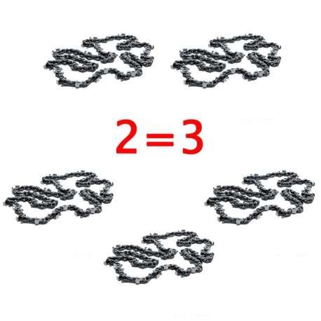 PACK-CHO037 - 2 Chaînes de tronçonneuse 72E - 0,325 1,3mm McCULLOCH