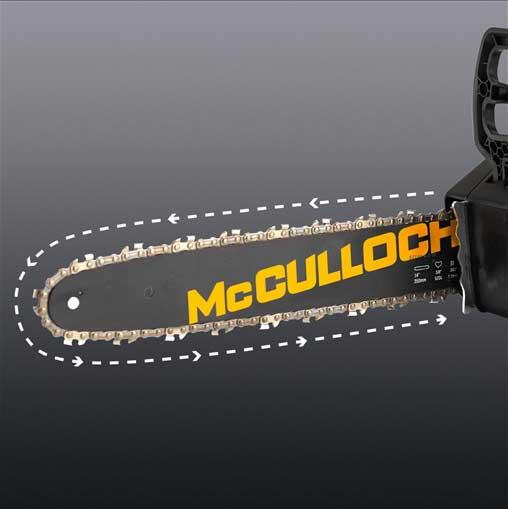 Tronçonneuse Li-40CS à batterie McCulloch